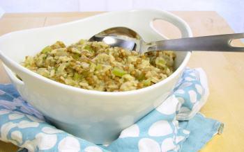 Lentil Risotto - peasant cooking under pressure