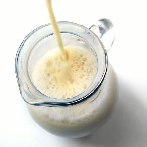 Got soy milk?  Make it in the pressure cooker!