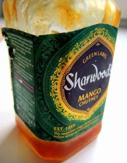 making mango chutney in the pressure cooker