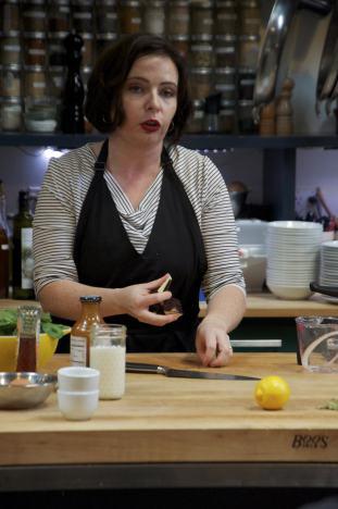 Explaining veggies in the pressure cooker