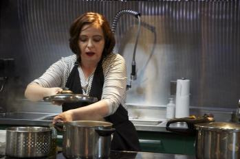The Brooklyn Kitchen Fagor Pressure Cooker Demo - Summer 2014