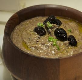 Finished eggplant dip.