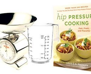 Metric Weights & Measurements for Hip Pressure Cooking Cookbook