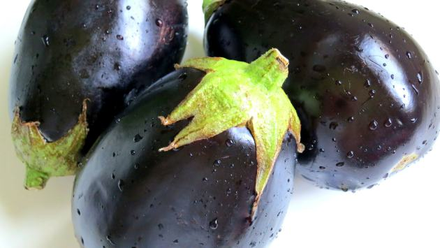 Pressure Cooker Eggplants