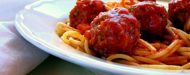Spaghetti and Meatballs (form the pressure cooker)