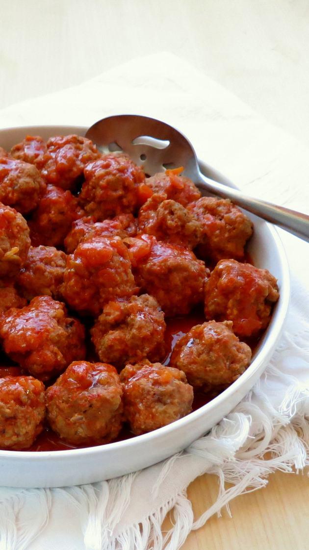 Pressure Cooker Meatballs