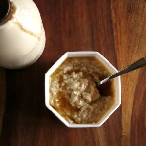 Maple Steel-cut Oats – Pressure Cooker Oatmeal