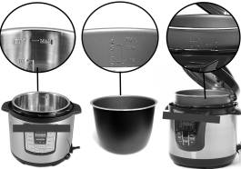 These multi-cookers with pressure programs, have the MAX/FULL line noted for non-pressure programs. It is not safe for pressure cooking!