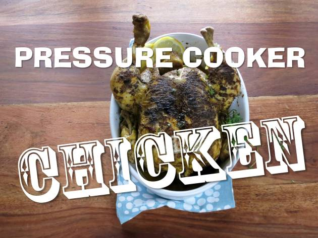pressure cooker chicken recipe video