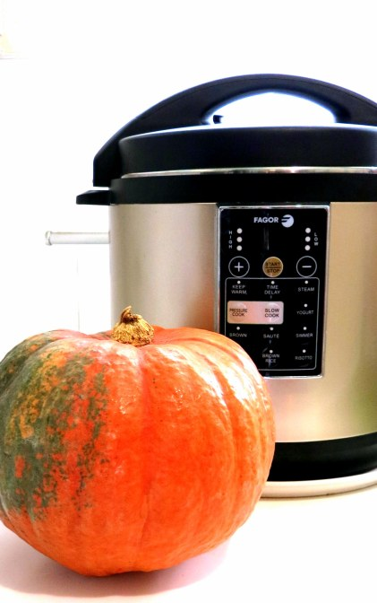 Pressure Cooker Pumpkin Tip!