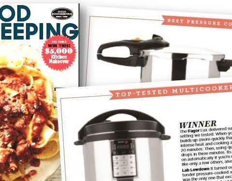 Good Housekeeping Mag Adds Multi Cooker Reviews Fagor Wins Big ⋆ Hip Pressure Cooking