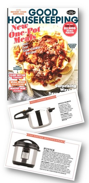 Good Housekeeping Mag Adds Multi Cooker Reviews -Fagor Wins Big!