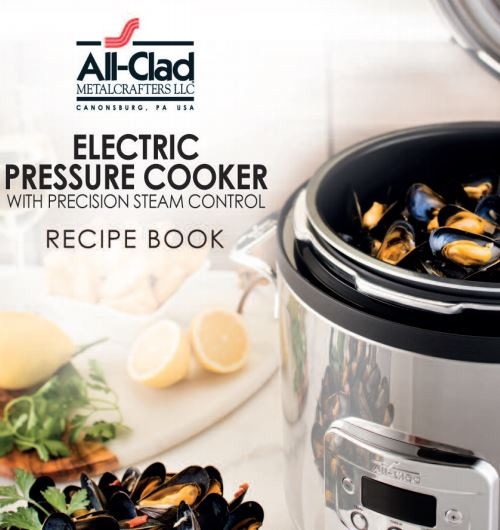 Free pressure cooker manual recipe booklet library all clad electric pressure cooker recipe booklet fandeluxe Choice Image