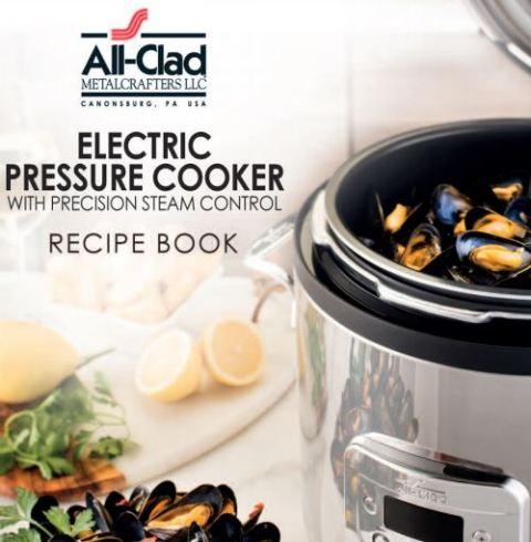 All clad electric pressure cooker recipe booklet hip pressure cooking forumfinder Images