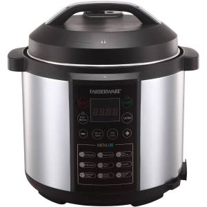 Farberware 7-IN-1 Programmable (1st gen) Pressure Cooker Manual & Error Codes