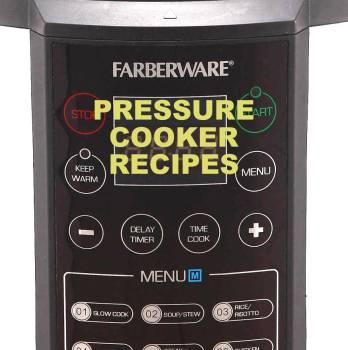 Farberware 7-in-1 (1st gen) Pressure Cooker Recipe Booklet