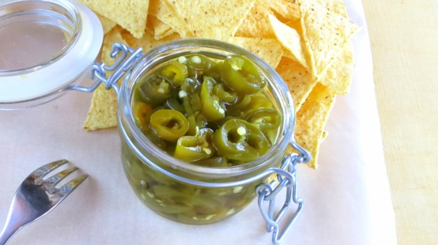 Pressure Cooker Super-Quick Pickled Peppers