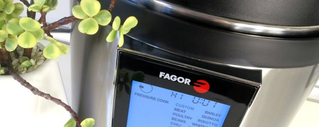 Fagor LUX™ LCD Electric Pressure Cooker & Multi Cooker