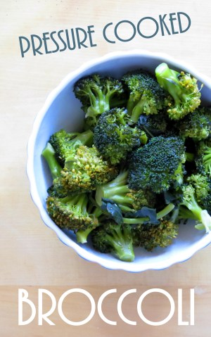 Pressure Cooker Broccoli & Steamer Baskets