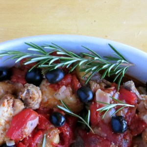 Pressure Cooker Chicken Cacciatore & Magically Increasing Liquid