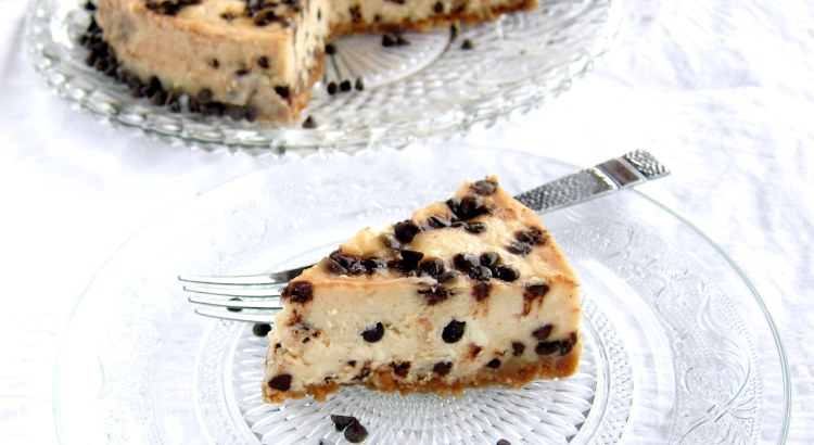 Mascarpone Chocolate Chip Cheesecake - pressure cooker recipe (Instant Pot)