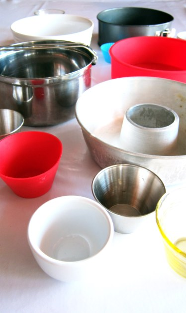 Heat-safe containers to be used in the pressure cooker or Instant Pot