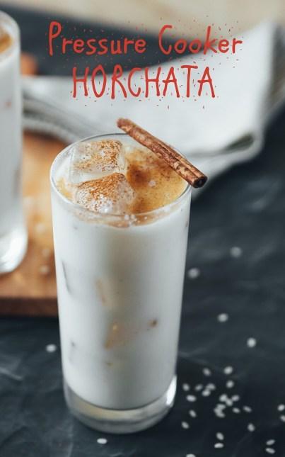 pressure cooker instant pot mealthy horchata