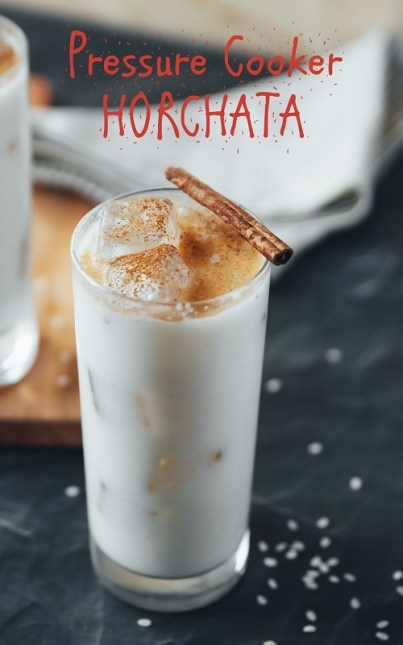 Pressure Cooker Horchata Mexican Sweet Rice Drink ⋆ Hip