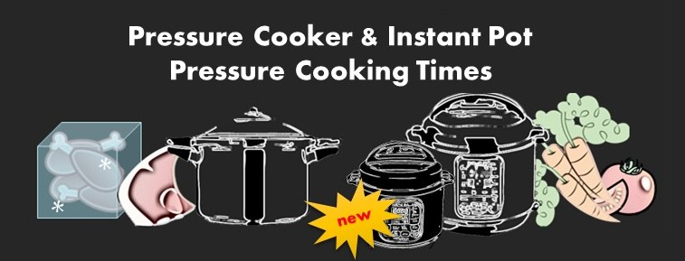 Instant Pot Stove Top Amp Electric Pressure Cooker Cooking Time Chart ⋆ Hip Pressure Cooking