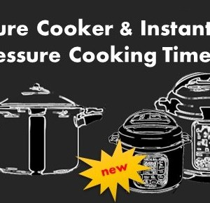 UPDATE! Instant Pot MINI Pressure Cooking Times Added