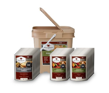 ReadyWise 84 Serving Breakfast/Entre Grab and Go Food Kit