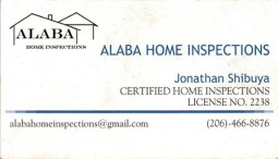 Jonathan Shibuya - Alaba Home Inspection