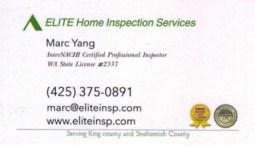 Marc Yang - Elite Home Inspection