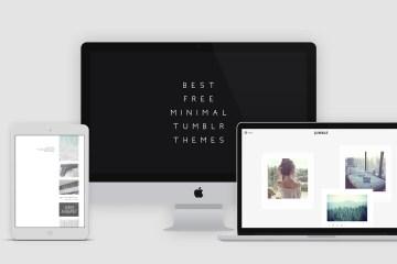 Free Minimal Tumblr Themes