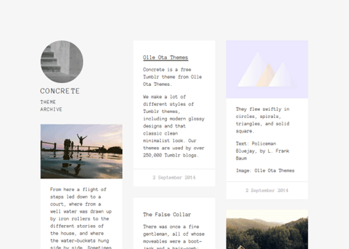 16 Best Free Minimal Tumblr Themes Hipsthetic