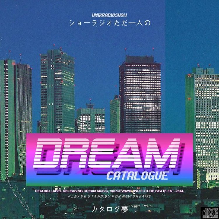 Dream Catalouge Record Label 80's Fonts