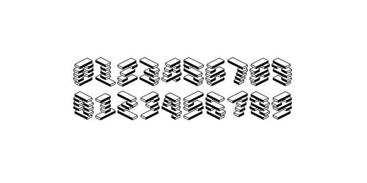 LevelRebel Free 80's Pixel Font