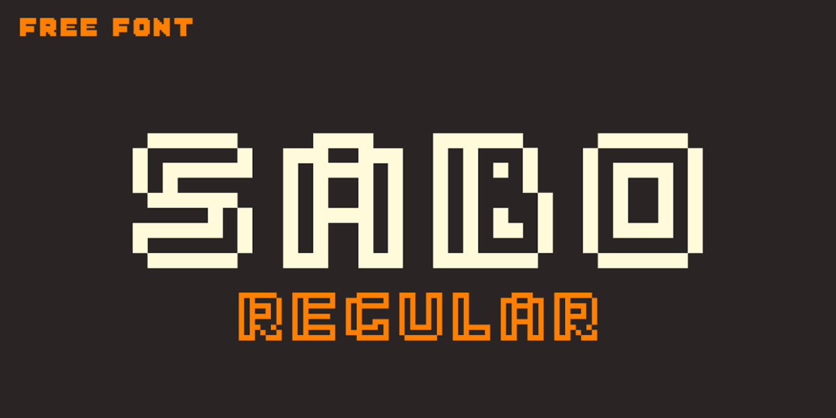 Sabo Free 80's Fonts