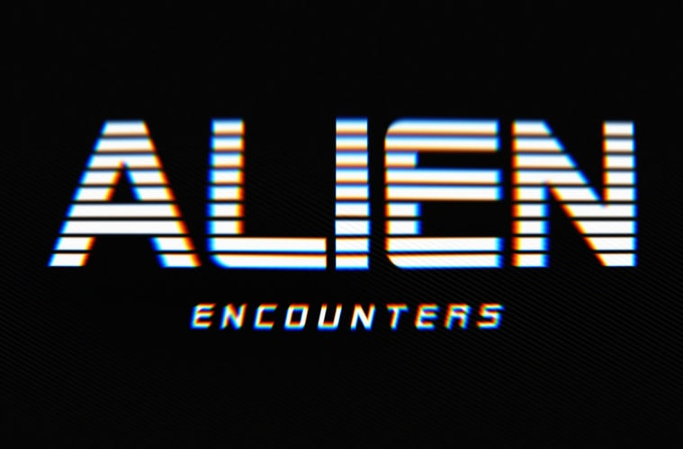 Alien Encounters FREE 80s Font Family Hipsthetic