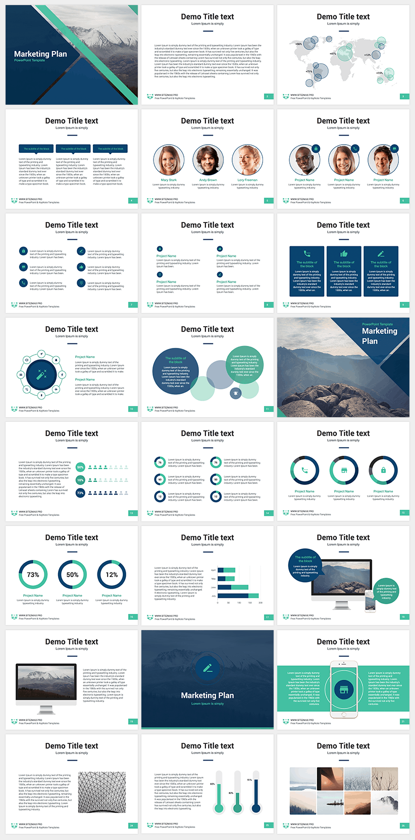 The best 8 free powerpoint templates hipsthetic free powerpoint template marketing plan toneelgroepblik Image collections