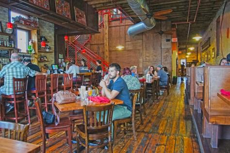 Inside Engine Co. No. 3 Hipstorical Restaurant Milwaukee