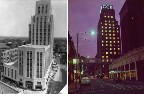 Vintage Pictures of the Hill Building, Durham, NC