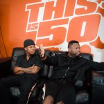 Awful HAIRCUT: Nasty C covers his hair while meeting with 50 Cent (PICTURES)