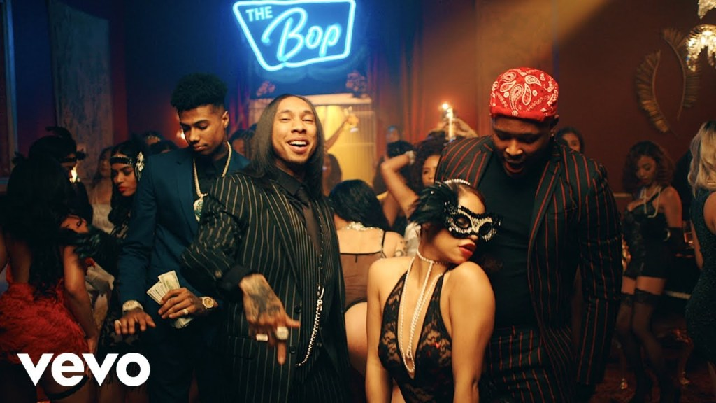 Tyga – Bop ft YG, & Blueface (Video)