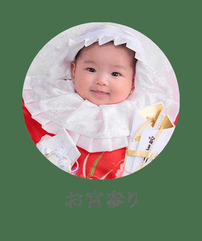 お宮参りのアイコンの画像