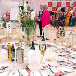 Christmas Chair Back Covers Ireland Slip Canada Event Hire Party Furniture Events All Irish Derby Where Curragh Racecourse Who Dubai Duty Free