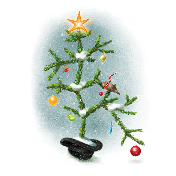 Darwin's Christmas tree of life