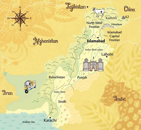 Pakistan-MapGeorgieFearns