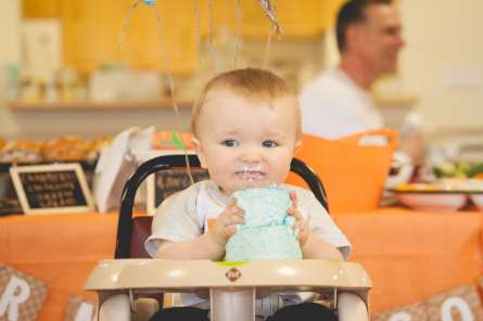 Bennetts First Birthday Party-41