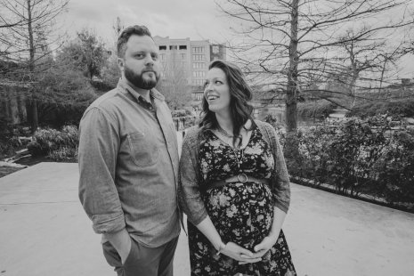 10 Year Anniversary/Maternity Photos by Courtney Santos of Awkward Eye Photography